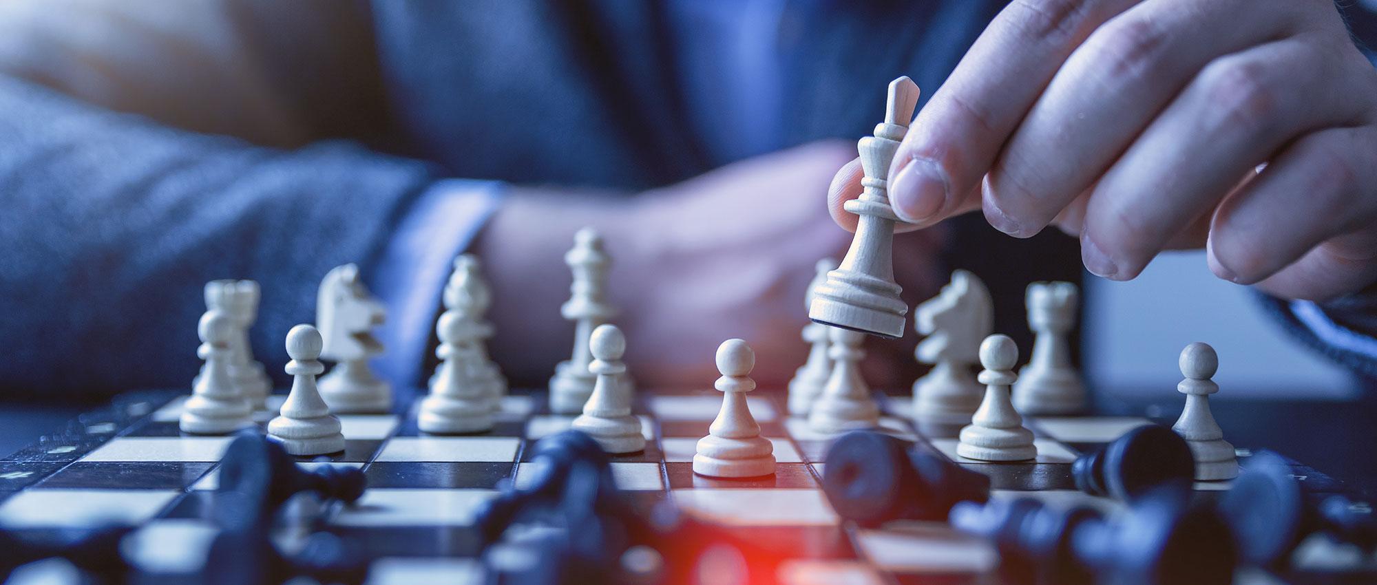 Fysieke schaakcompetitie jeugd